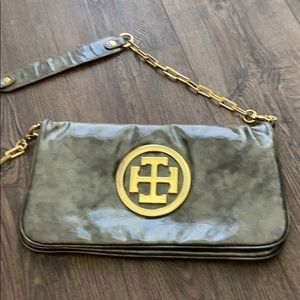 Tory Burch patent leather purse